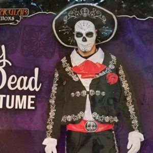 Day of the Dead Men's Halloween Costume